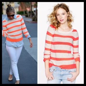 Striped J Crew Sweater